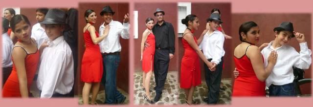 Debut de la Agrupación Coreográfica el 09 de octubre de 2011