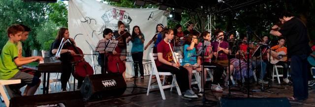 Grupo Yupana Artes en el  Segundo Encuentro de Tango y Juventud Villa Espil 2014