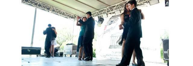 Baile en el  Segundo Encuentro de Tango y Juventud Villa Espil 2014