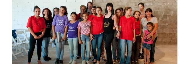 Clase Magistral de Técnica de la Mujer en el Tango por la Bailarina & Profesora María Campos en el Segundo Encuentro de Tango y Juventud Villa Espil 2014